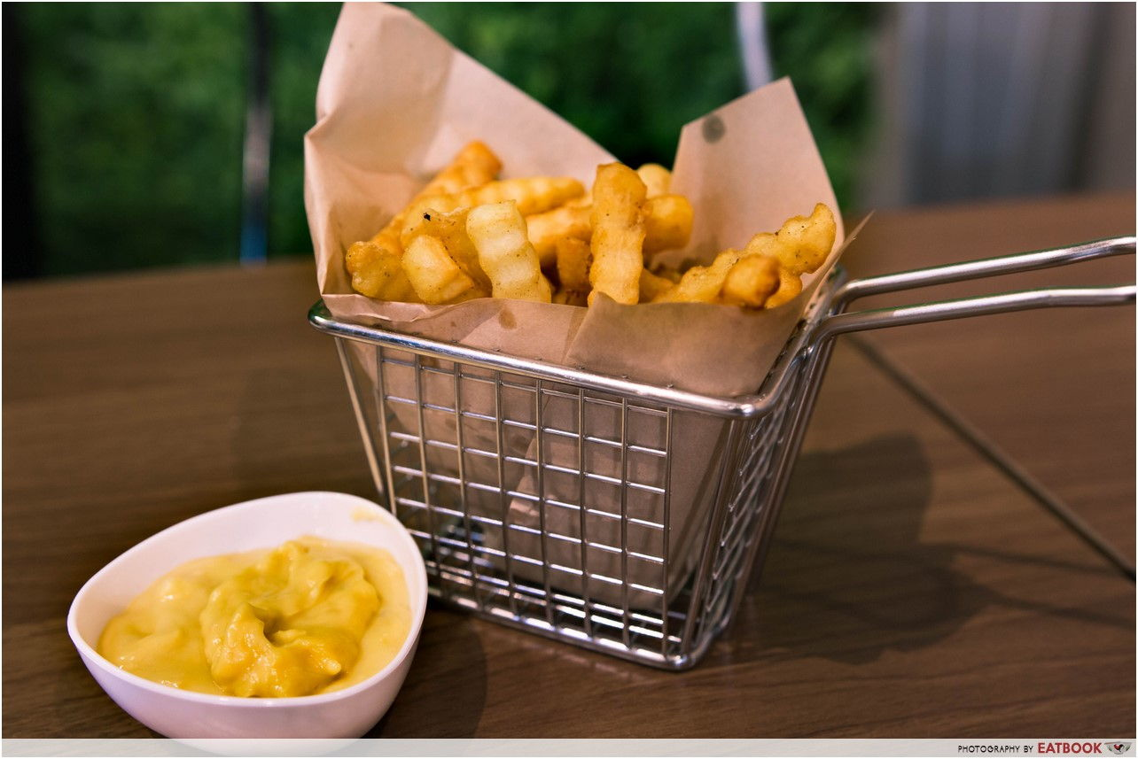 Mao Shan Wang Cafe - durian fries