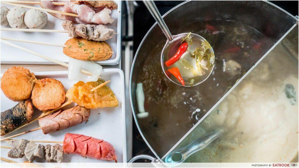 Ma la steamboat buffet Zao-Lek-Lok-Lok