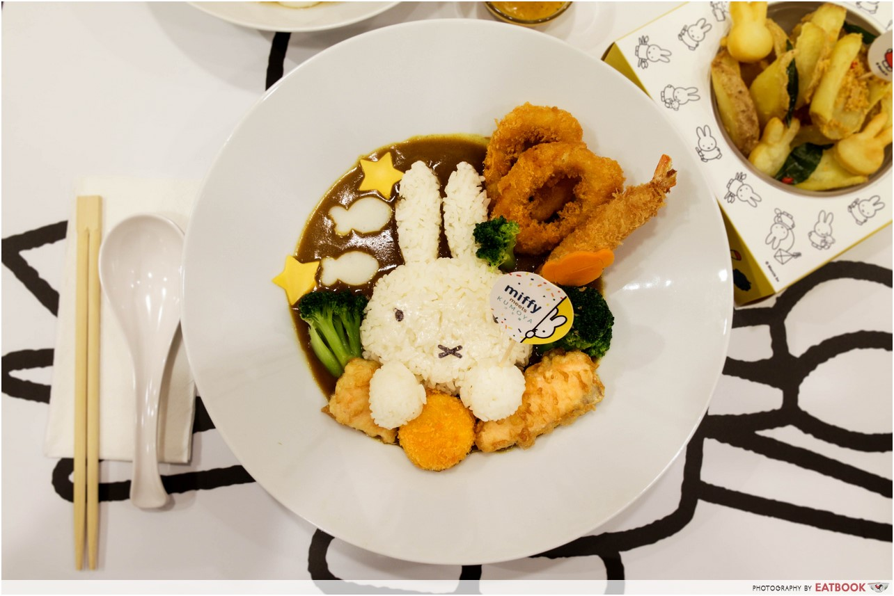 Miffy cafe - curry rice