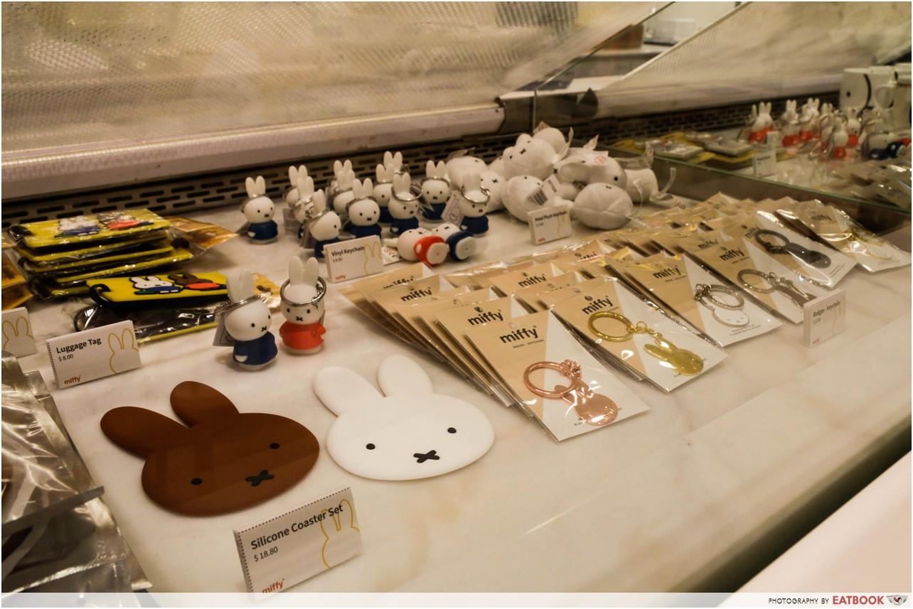 Miffy cafe - miffy merchandise