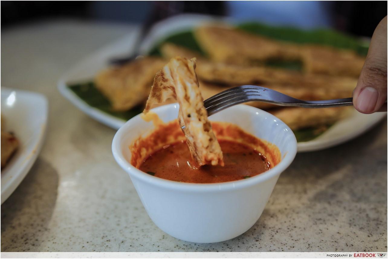 Prata Alley - Murtabak Maggi curry