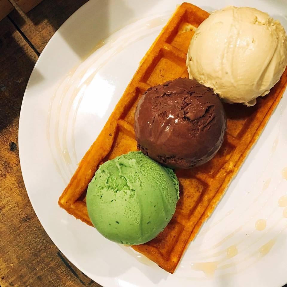 SMU food - merely ice cream