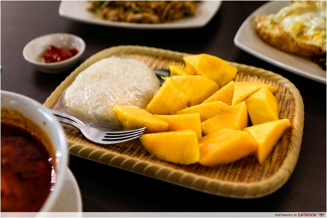 The Sticky Rice - Mango sticky rice