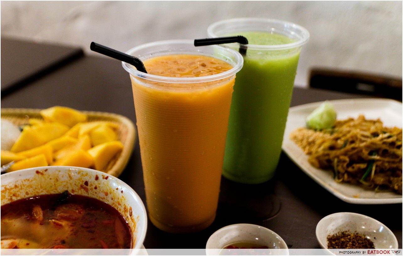 The Sticky Rice - Thai Ice Milk Tea