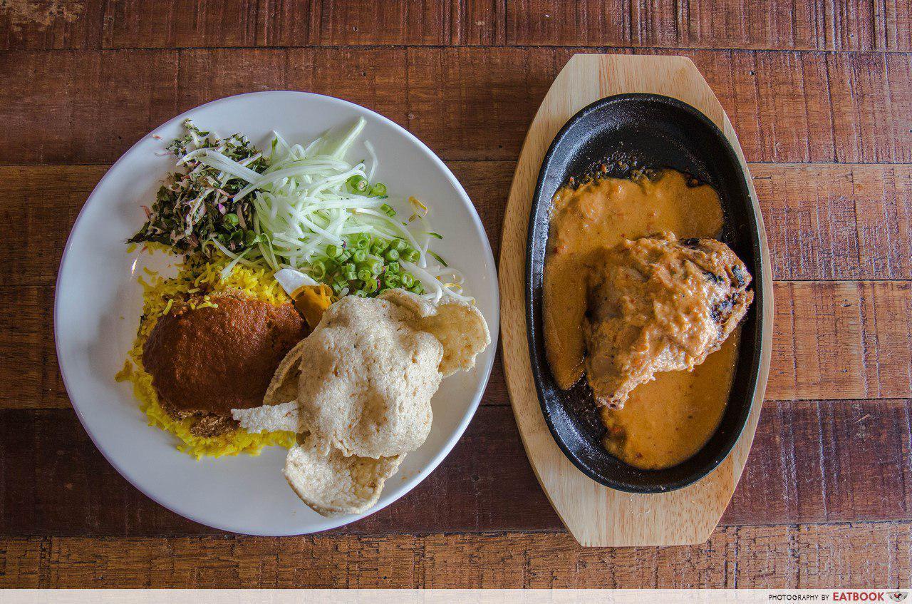 Upeh Cafe - Nasi Kerabu