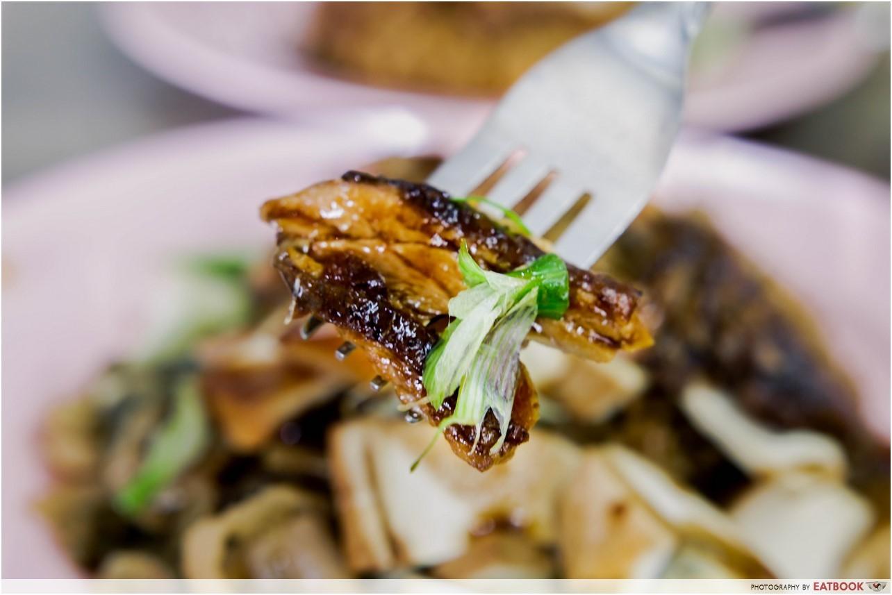 Wei Ji Braised Duck - duck rice close
