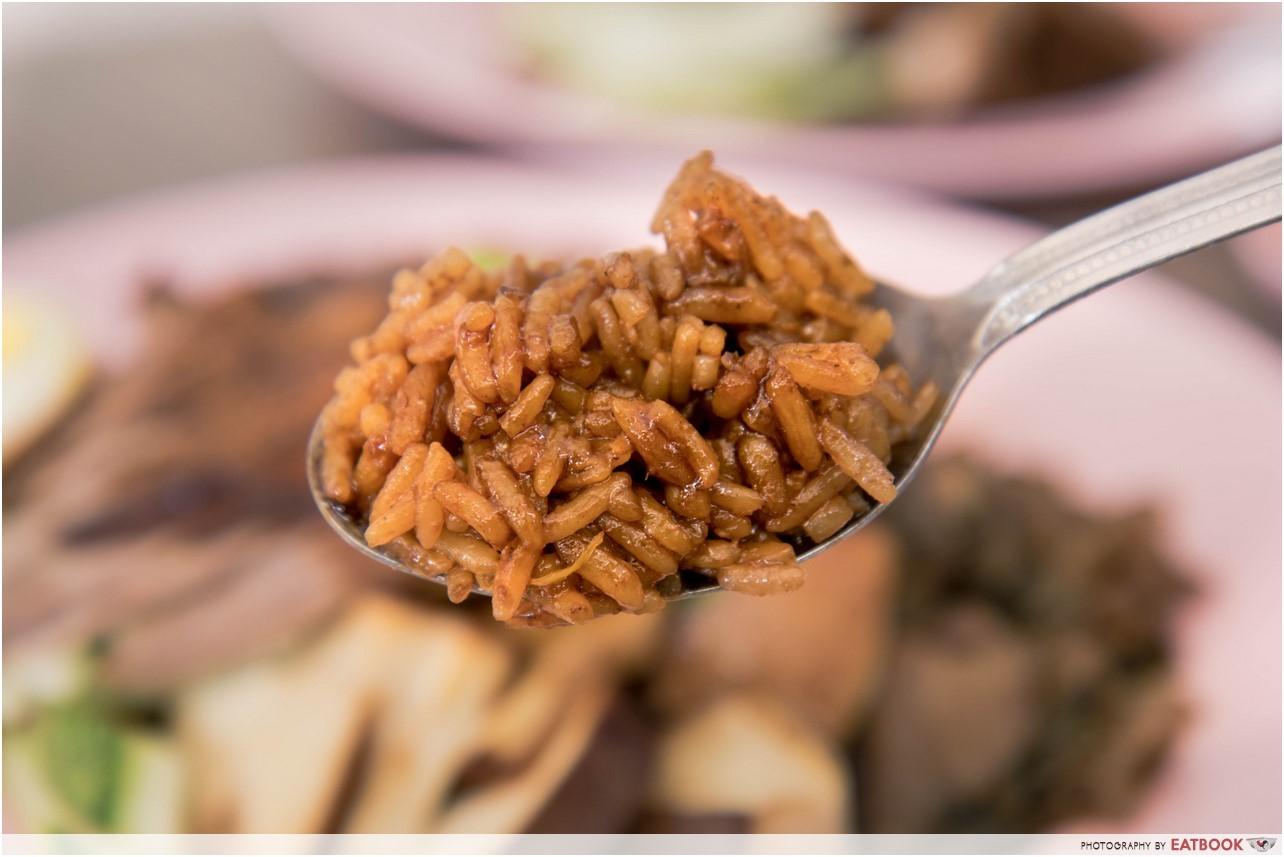 Wei Ji Braised Duck - rice