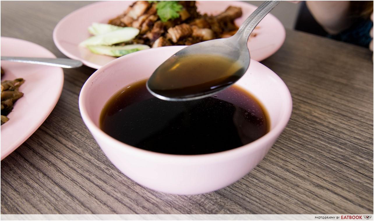 Wei Ji Braised Duck - soup