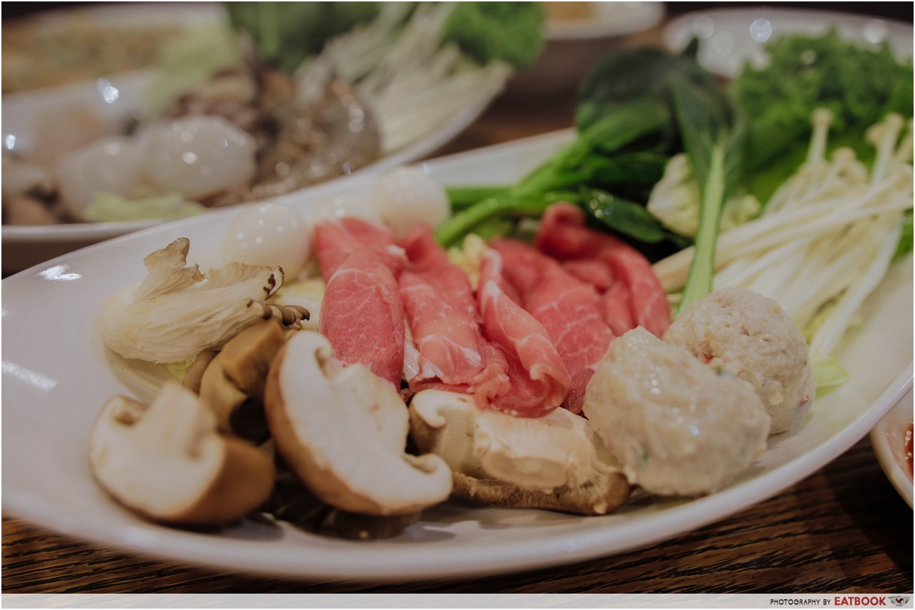 Yi Ke Guan - pork set