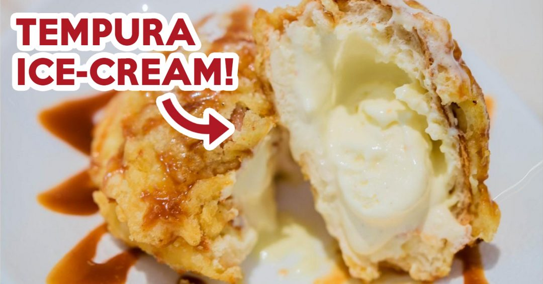 Yummo Chow - Tempura Ice-cream cover image
