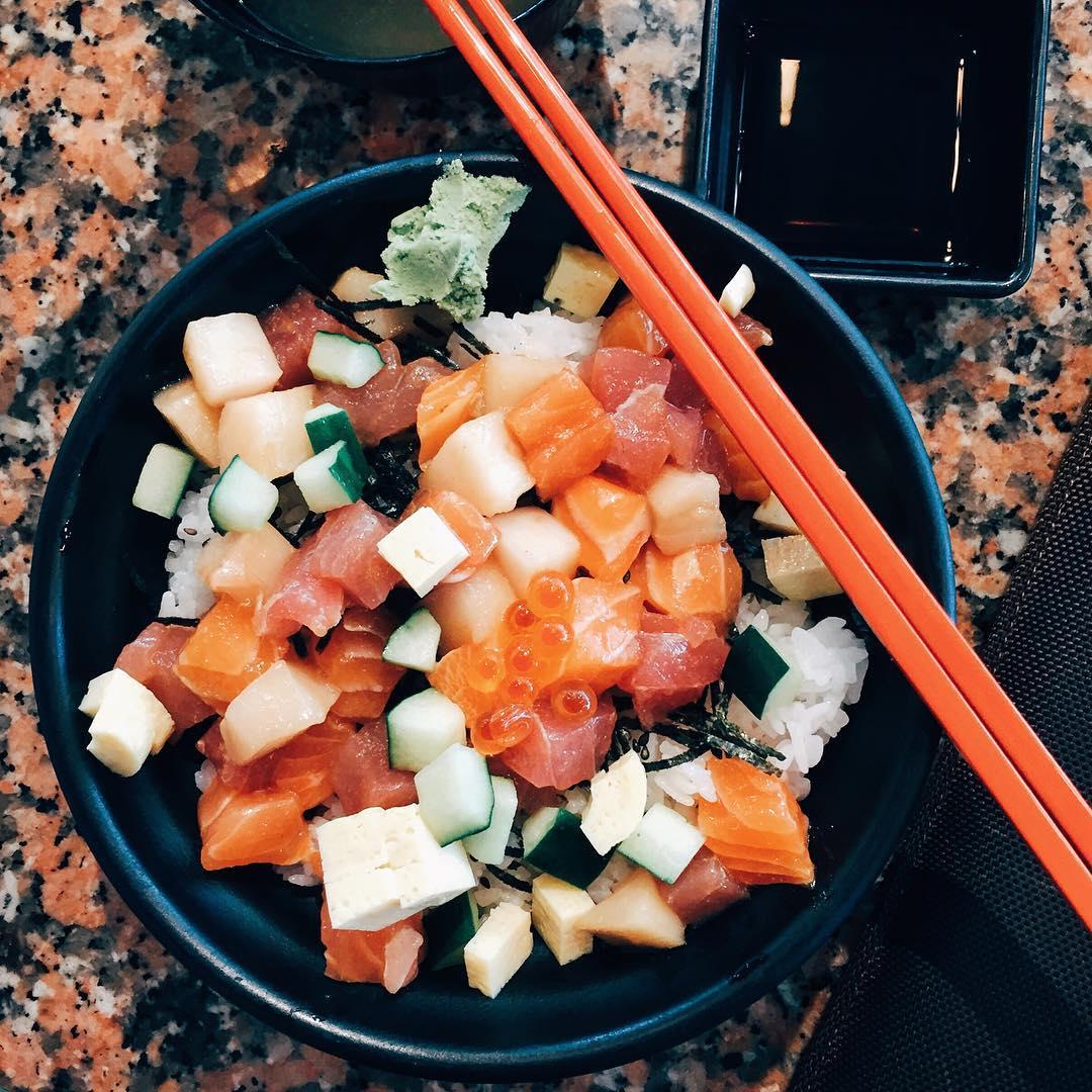 cheap smu food - chirashi tei