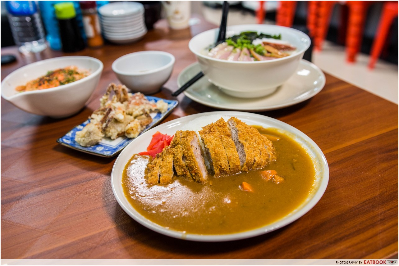 cheap smu food - japanese curry express