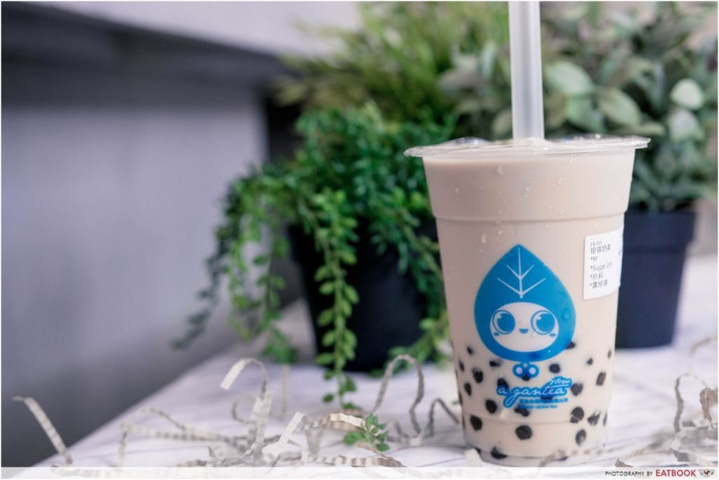 underrated bubble tea - A-gan tea