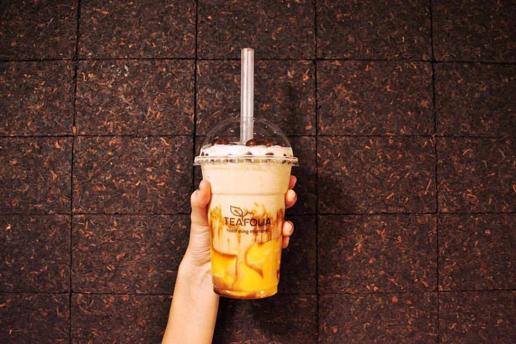 underrated bubble tea - Teafolia