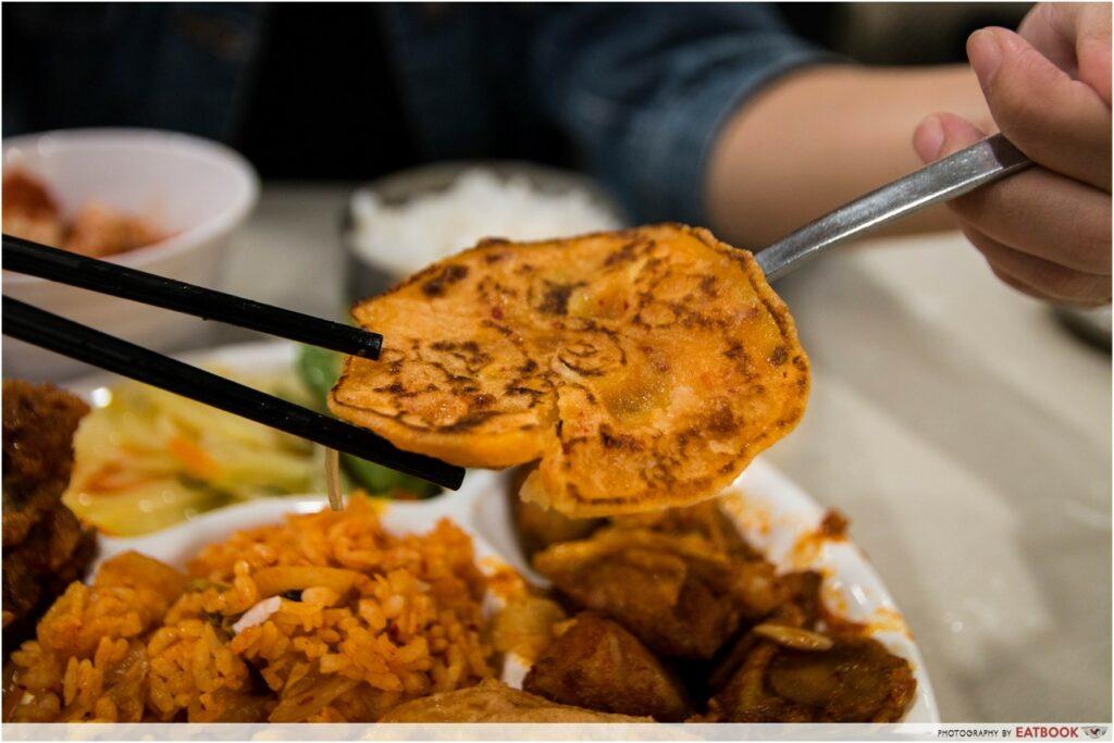 8282 Korea kimchi pancake