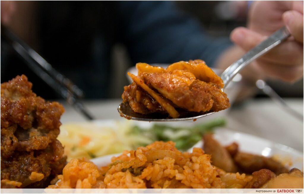 8282 Korea stir-fried chicken