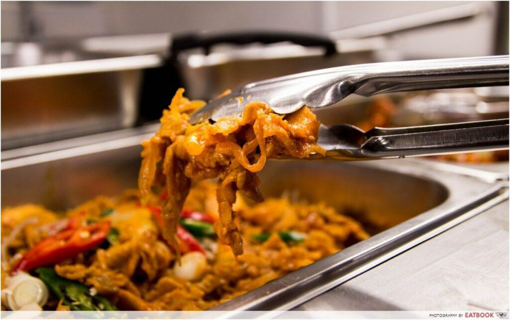 8282 Korea stir fried pork