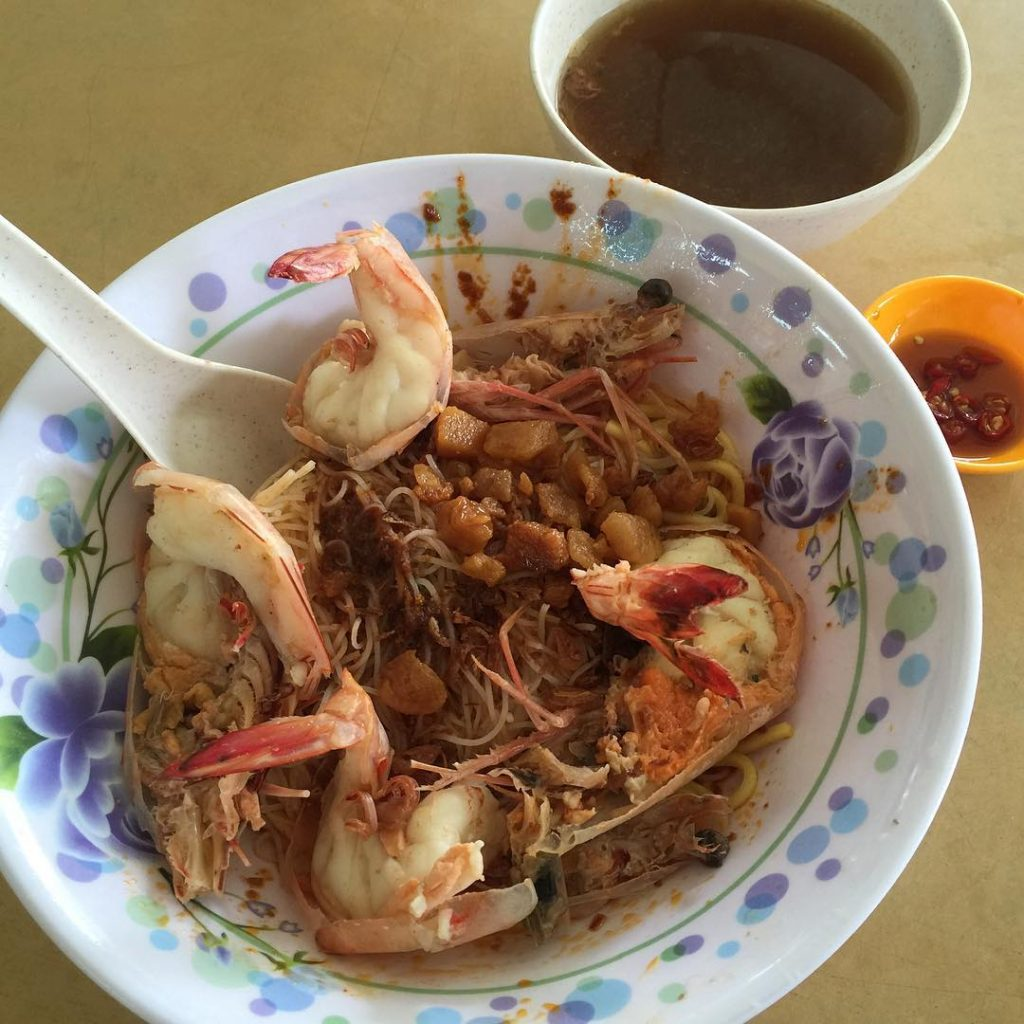Bedok North Food 58 Prawn Noodle