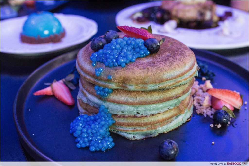 Blue Willow - Neytiri's Blue Pancake Stack