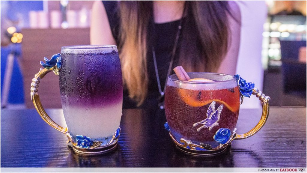Blue Willow - mocktails