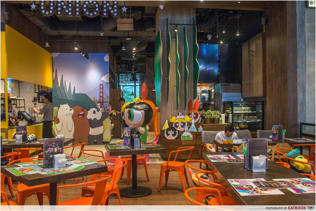 cartoon network cafe - ambience 1