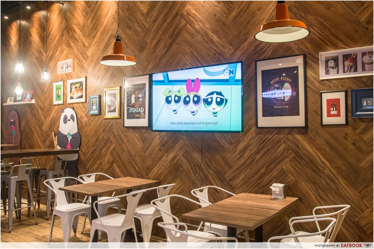 cartoon network cafe - ambience 2