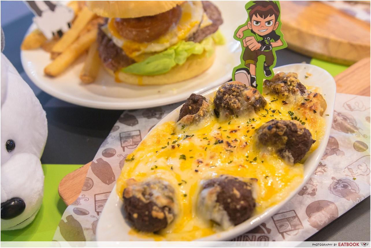 cartoon network cafe - meatball