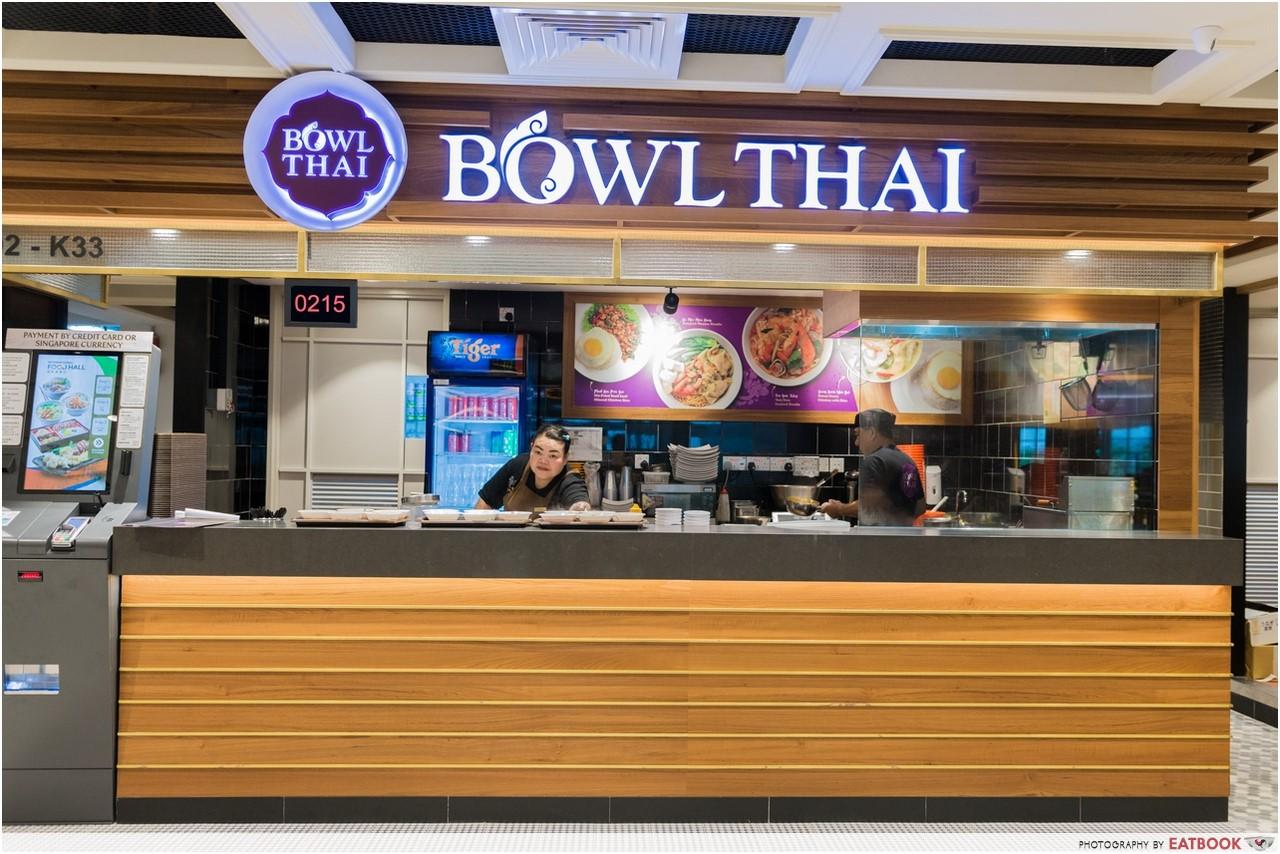 Changi T4- bowl thai