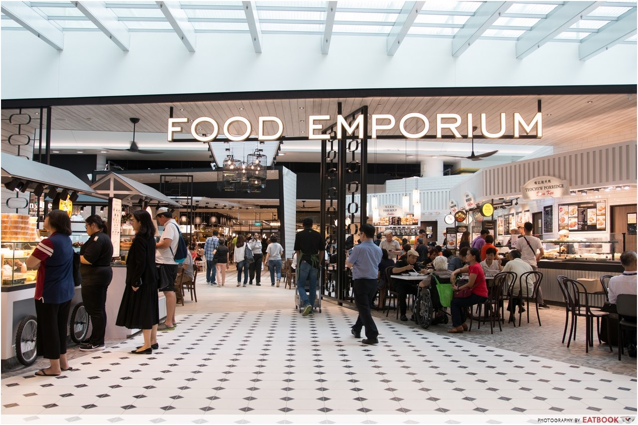 Changi T4- food emporium