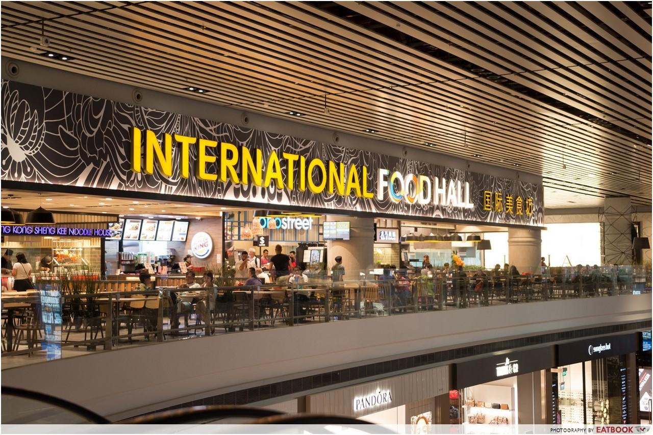 Changi T4- international food hall