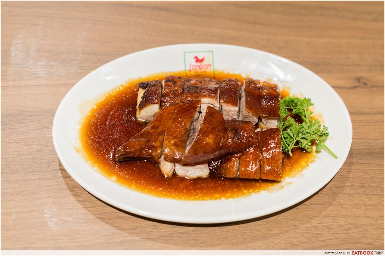 Changi T4- london fat duck food