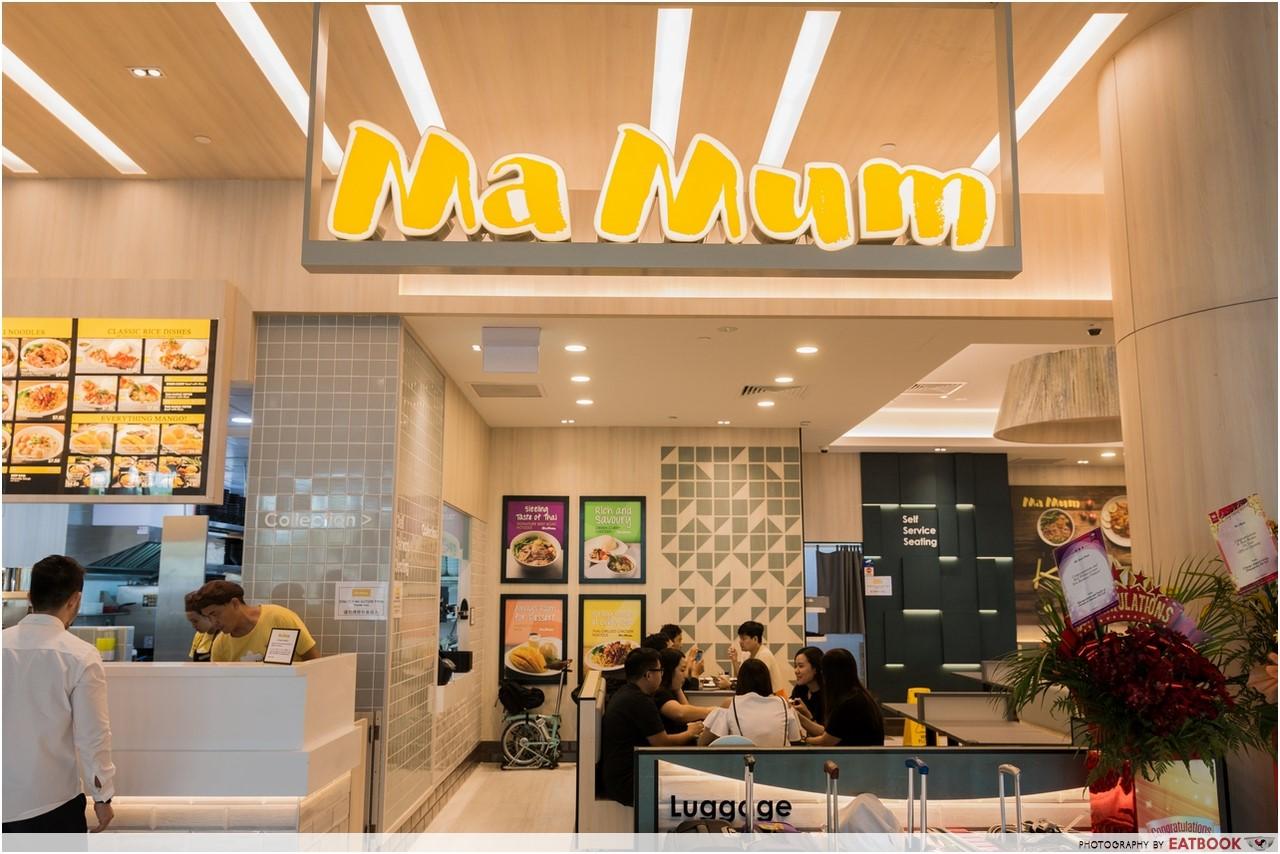 Changi T4- ma mum