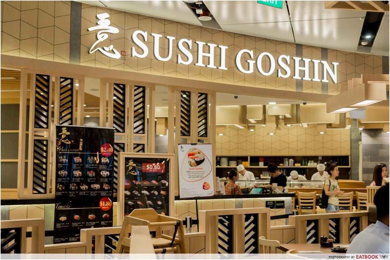 Changi T4- sushi goshin