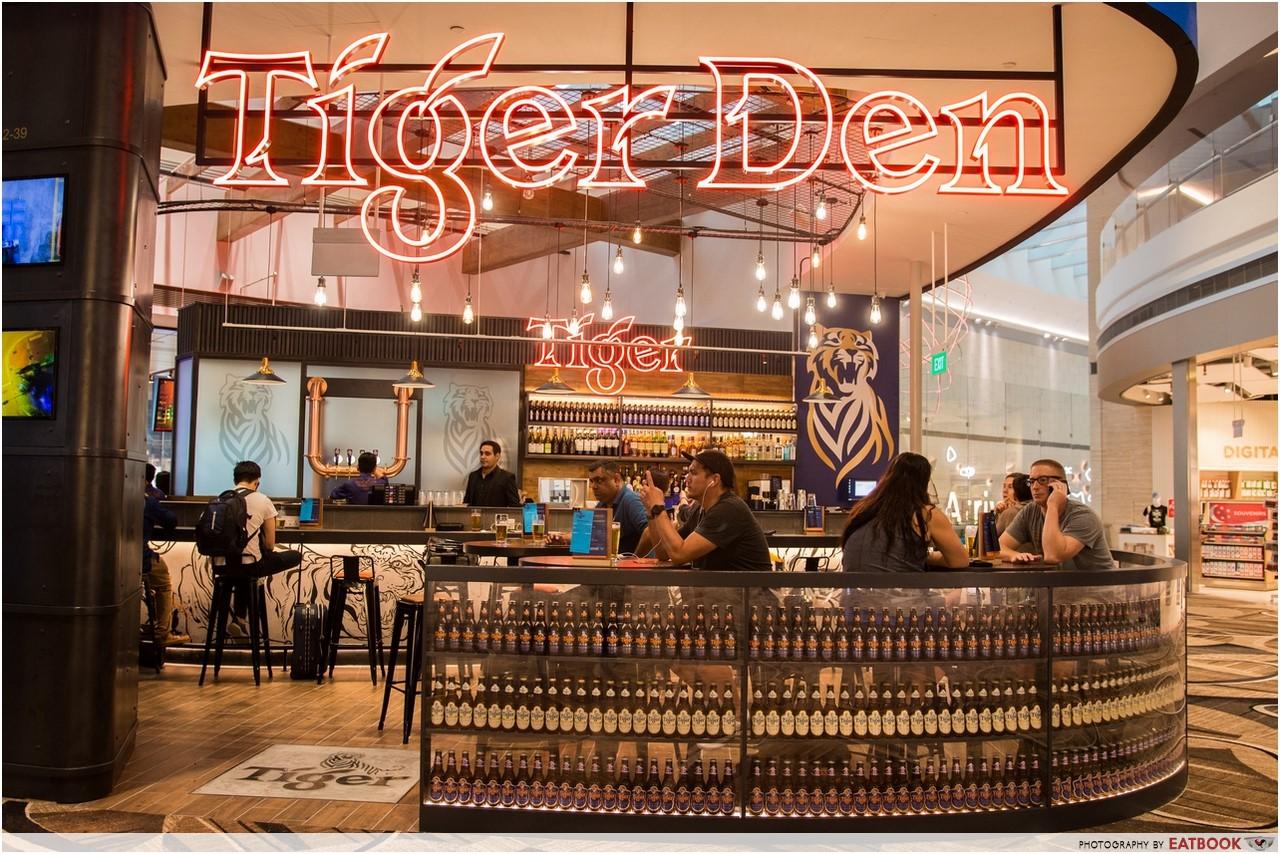 Changi T4- tiger den