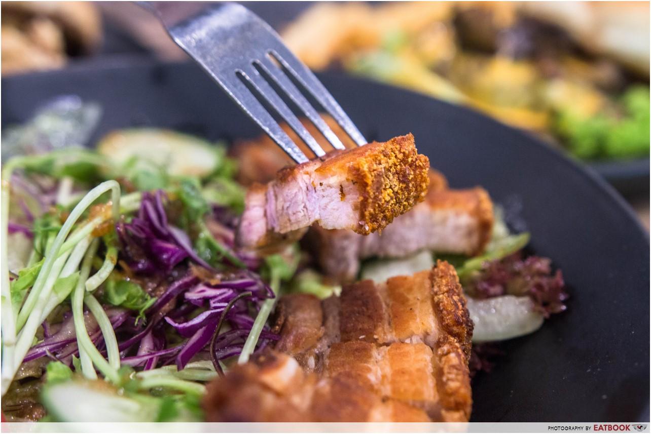 Foodsmith - Pork Belly Salad Close Up