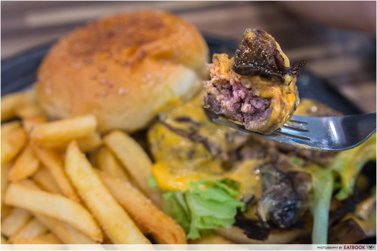 Foodsmith - Truffle Beef Burger Fork