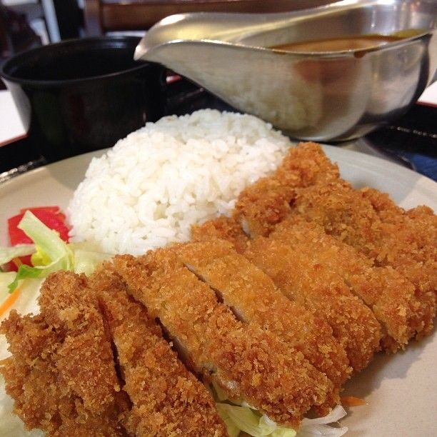 Fort Canning food - Japanese Curry Shop