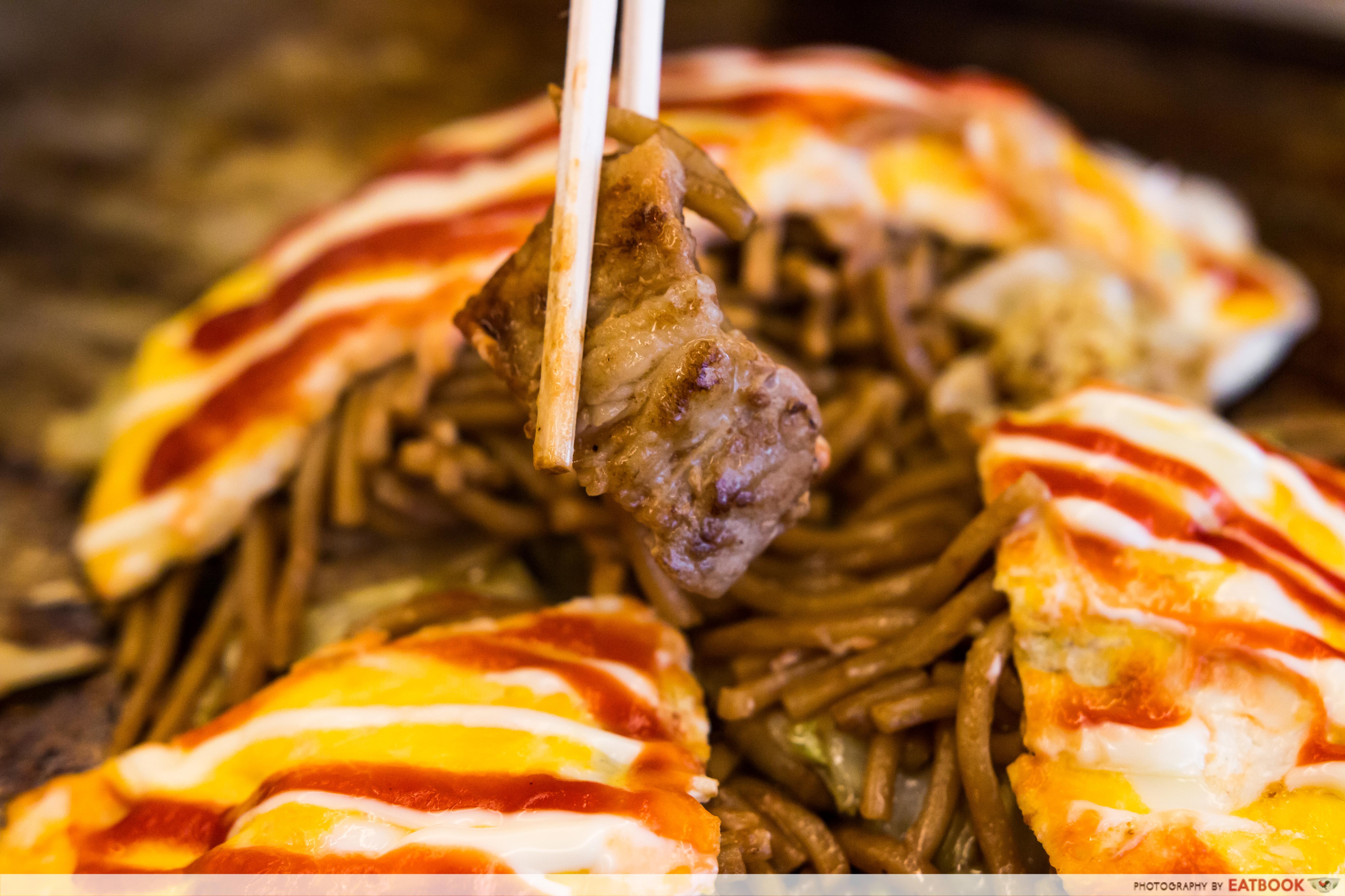 Fugetsu- yakisoba pork