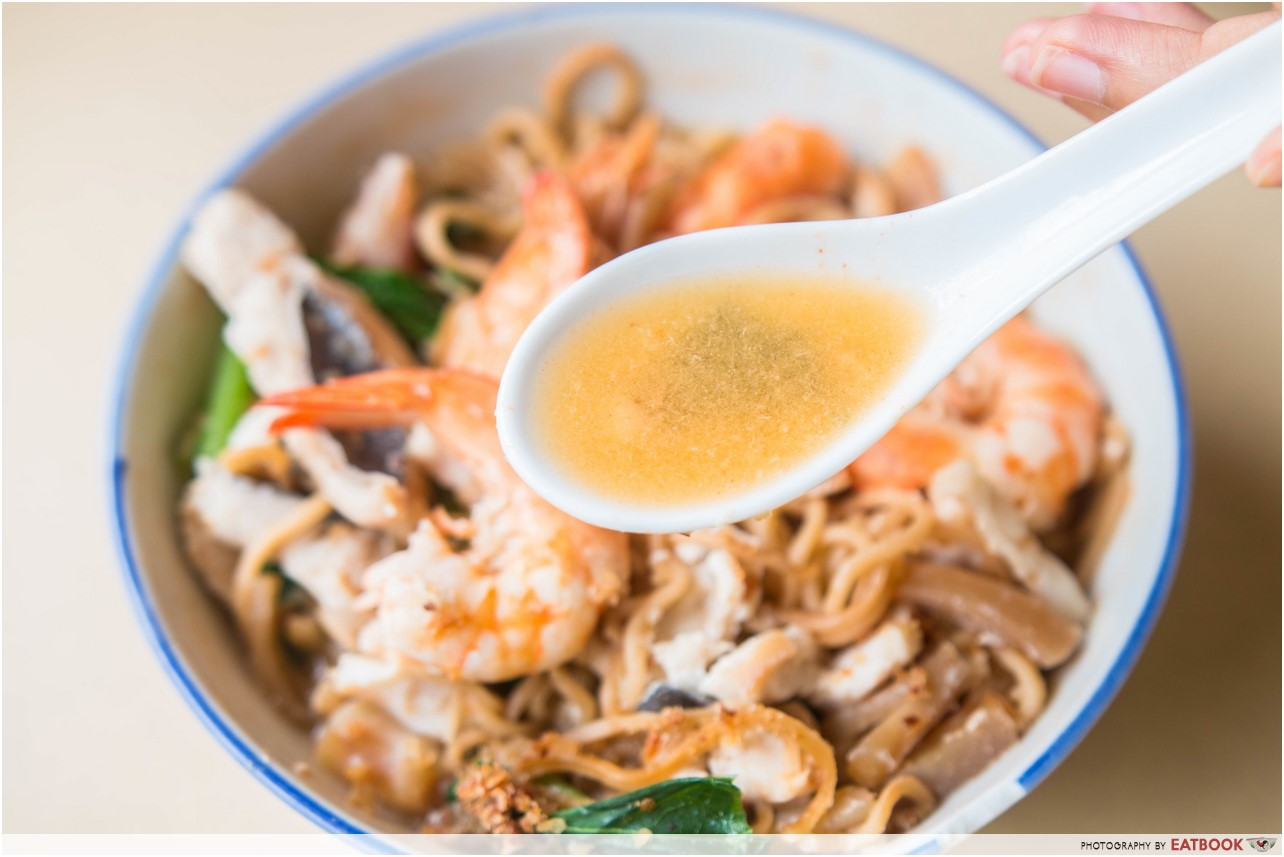 hai xian zhu zhou - ee mee soup