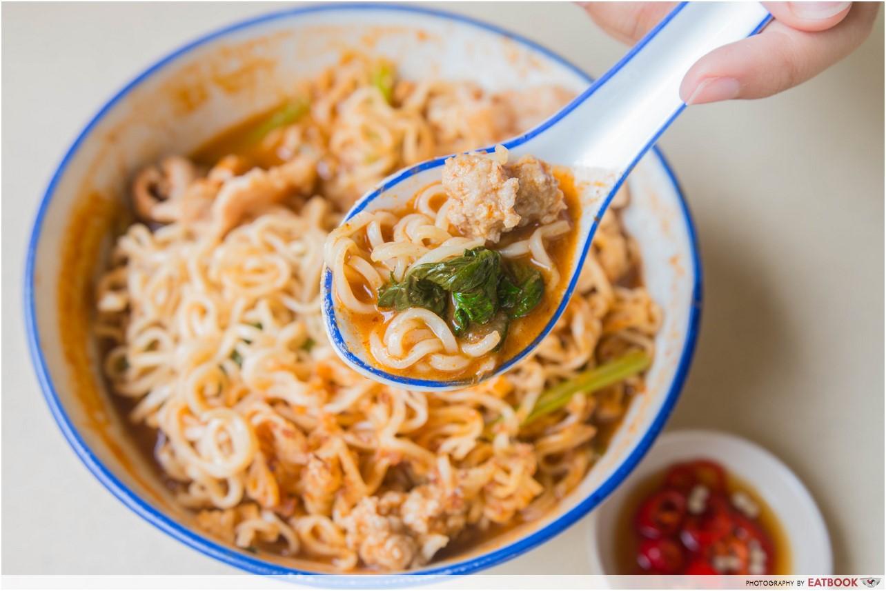 hai xian zhu zhou - tom yum noodles
