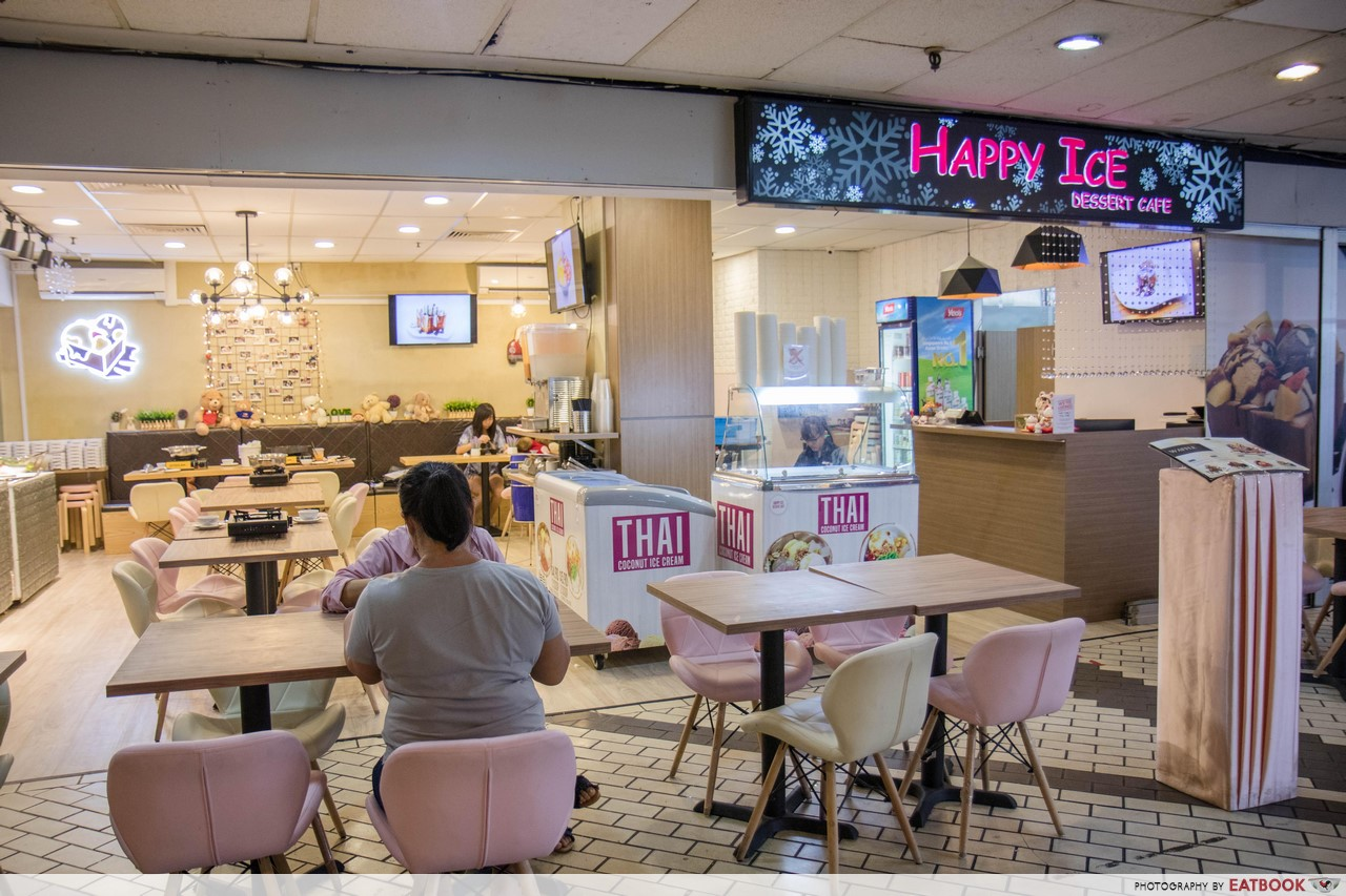 Happy Ice Dessert Cafe - shop front