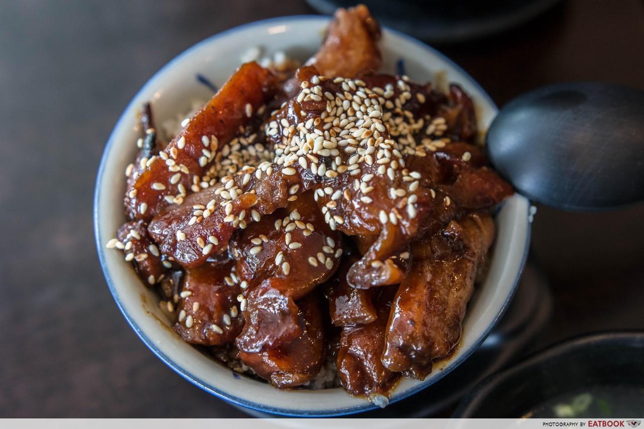 Hong Kong Dessert - Charsiew Chicken Rice