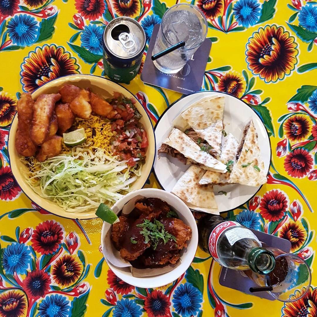 Jalan Besar food - Chimichanga