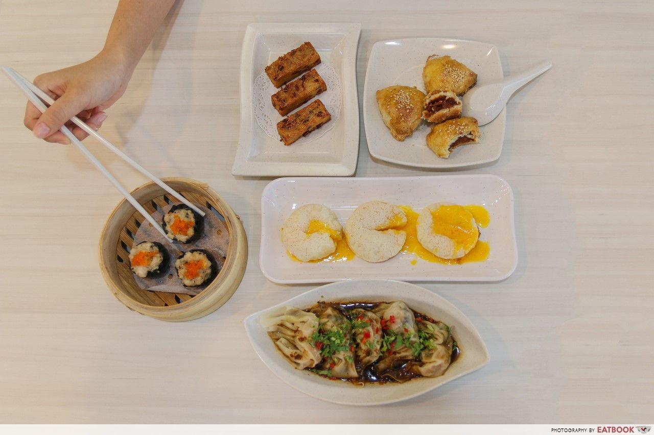 Jalan Besar food - Dim Sum Haus