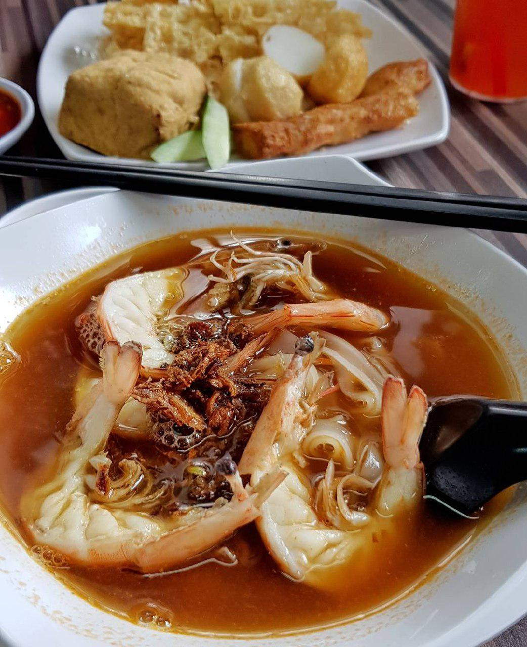 Jalan Kayu food - Blanco Prawn Noodle House