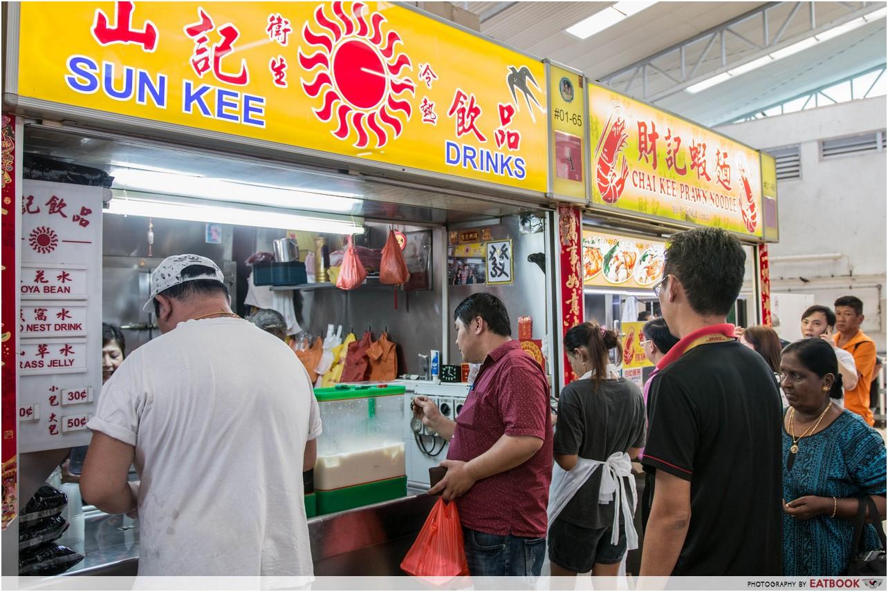 Kovan market - Sun Kee Drinks
