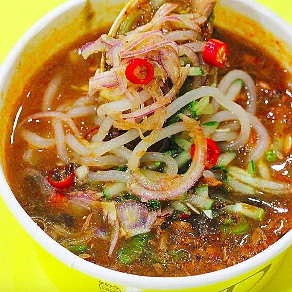 Malaysian-style dishes in Singapore Dlaksa