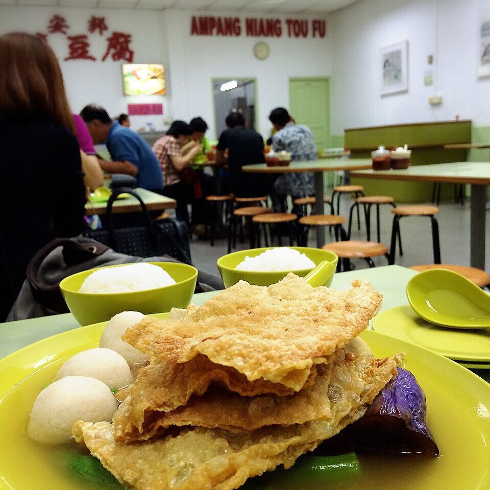 Malaysian-style dishes in Singapore Ampang Niang Tau Foo