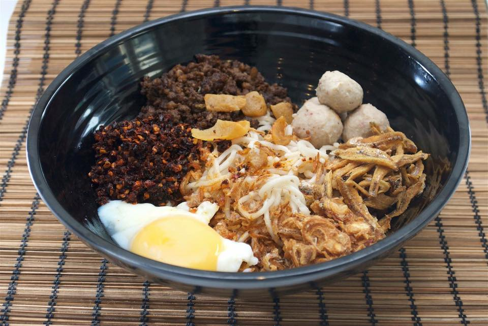 Malaysian-style dishes in Singapore KL Traditional Chilli Ban Mee
