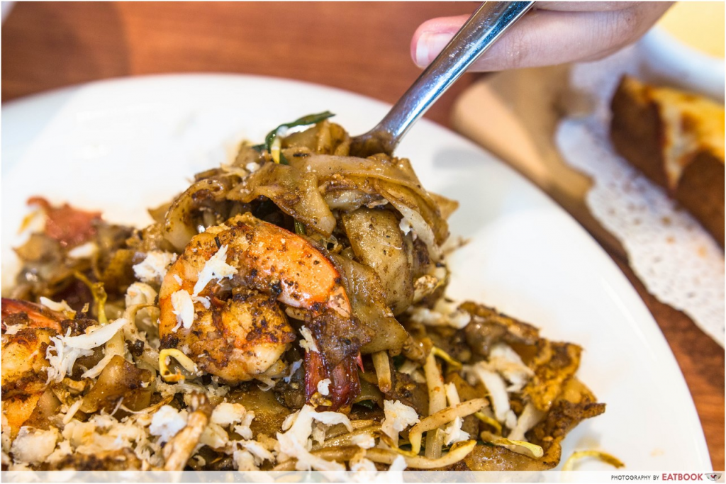 Malaysian-style dishes in Singapore Penang Bagus